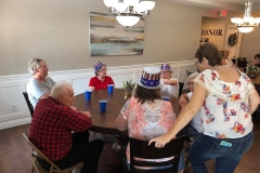 Social Gathering at Optimized Senior Living Group (Lebanon, Ohio)