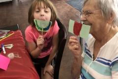 Family Visit at  Optimized Senior Living Group (Lebanon, Ohio)