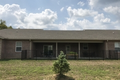 Back of Building - Optimized Senior Living Group (Lebanon, Ohio)