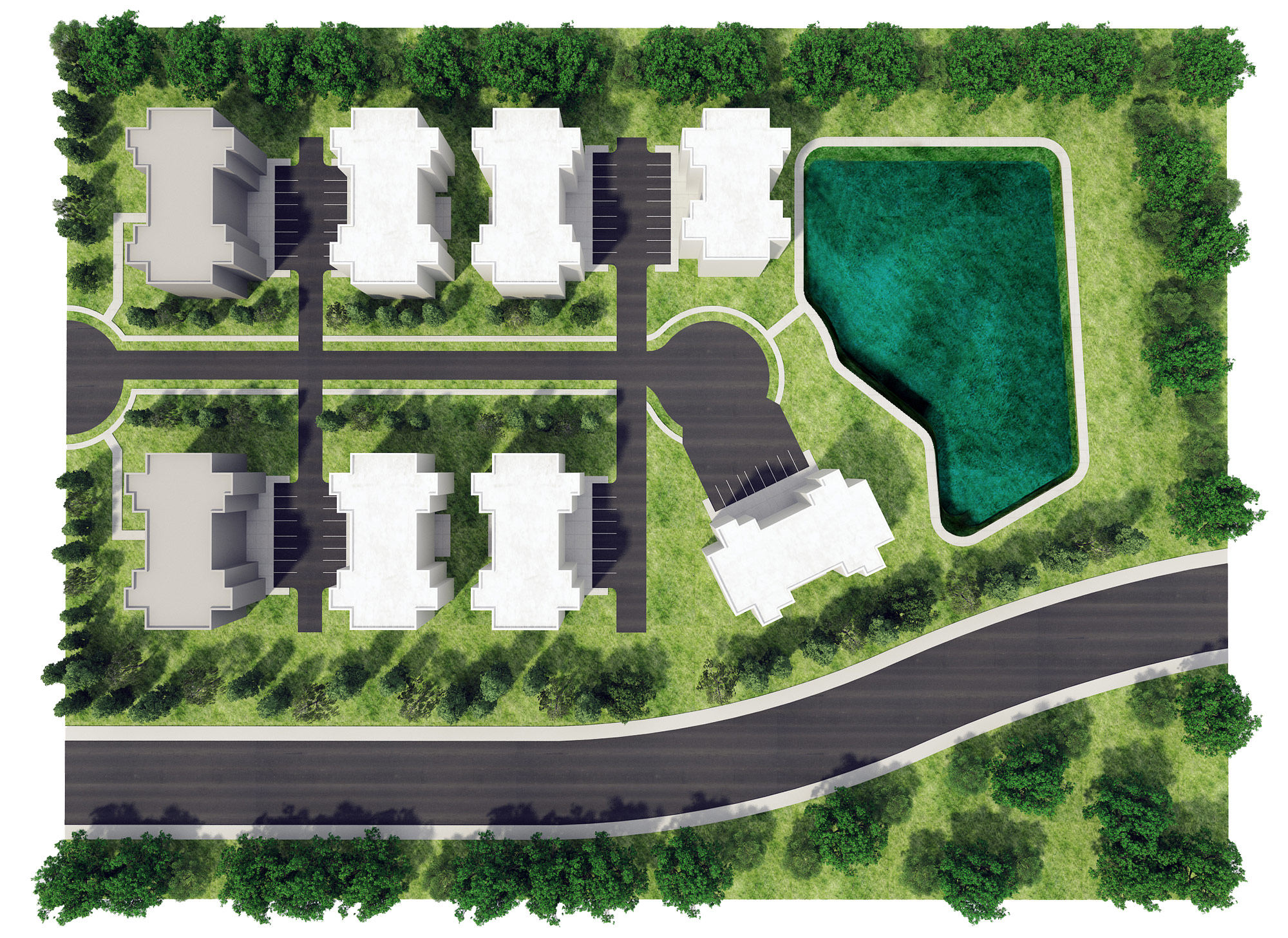 Plot Plan Layout - Optimized Senior Living Group (Lebanon, Ohio)